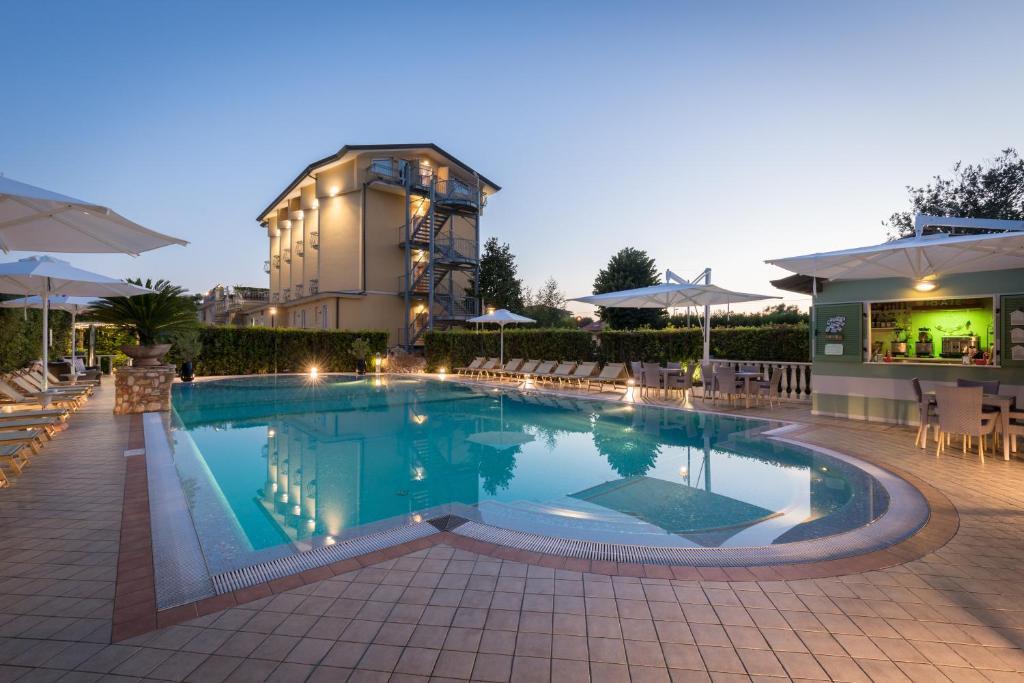 The swimming pool at or near Hotel Villa Tiziana