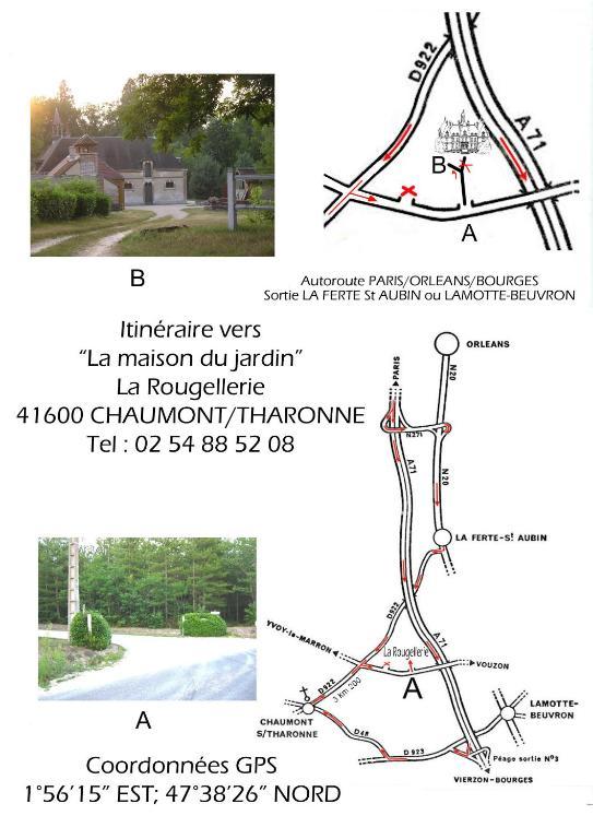 Vacation Home La Maison du Jardin, Chaumont-sur-Tharonne, France ...