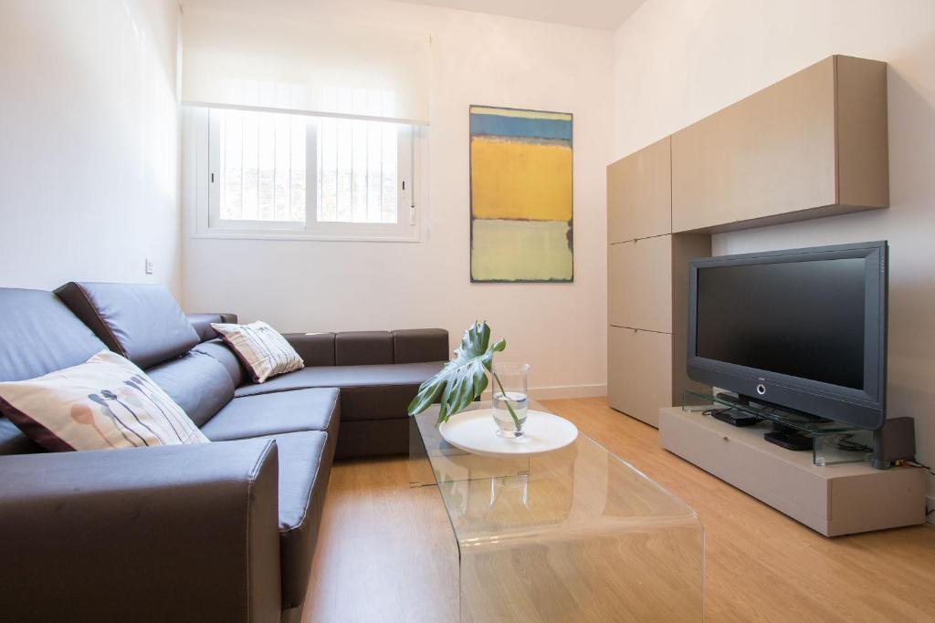 A seating area at Murallas de Sevilla Apartamento con garaje 4 pax