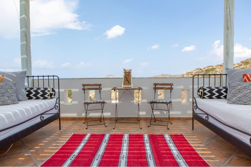 A balcony or terrace at Villa Kiko