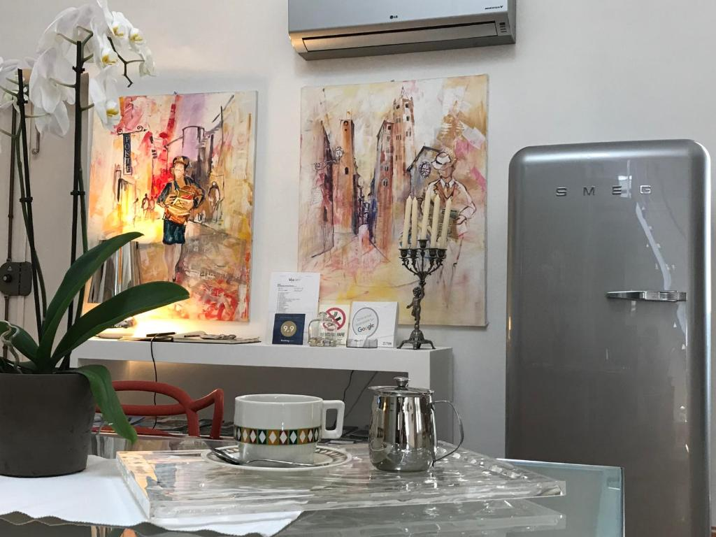 Een keuken of kitchenette bij Stardust