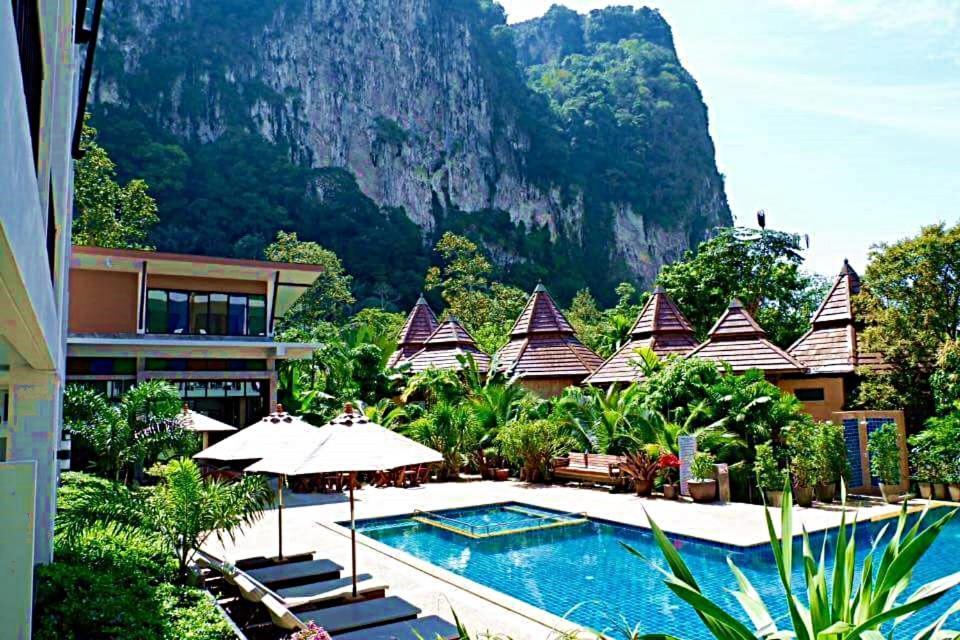 The swimming pool at or near Andaman Pearl Resort
