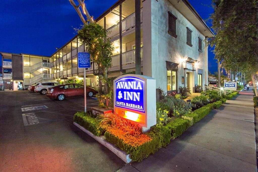 The Avania Inn of Santa Barbara.