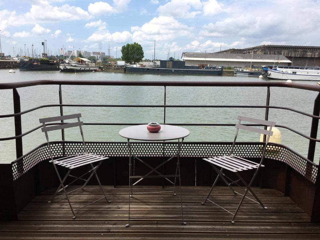 Balcon ou terrasse dans l'établissement La Petite Annick