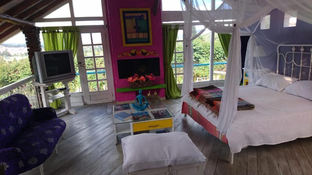 Vakantiehuis ARCOS DE LA LOMA CASA CAMPESTRE (Colombia Paipa ...