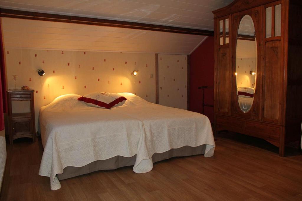 Кровать или кровати в номере B&B Sol Magnus