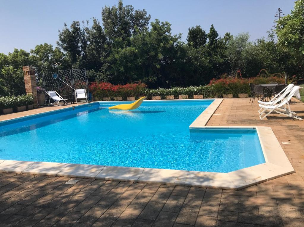 The swimming pool at or near Casa Padronale