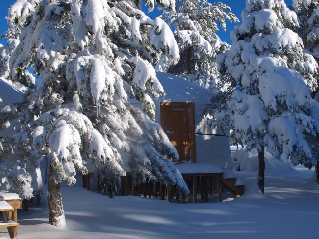 Vale do Rossim Eco Resort during the winter