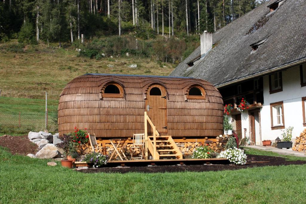 Ferienhaus Igluhut Tiny House Winterberghof Deutschland Vohrenbach