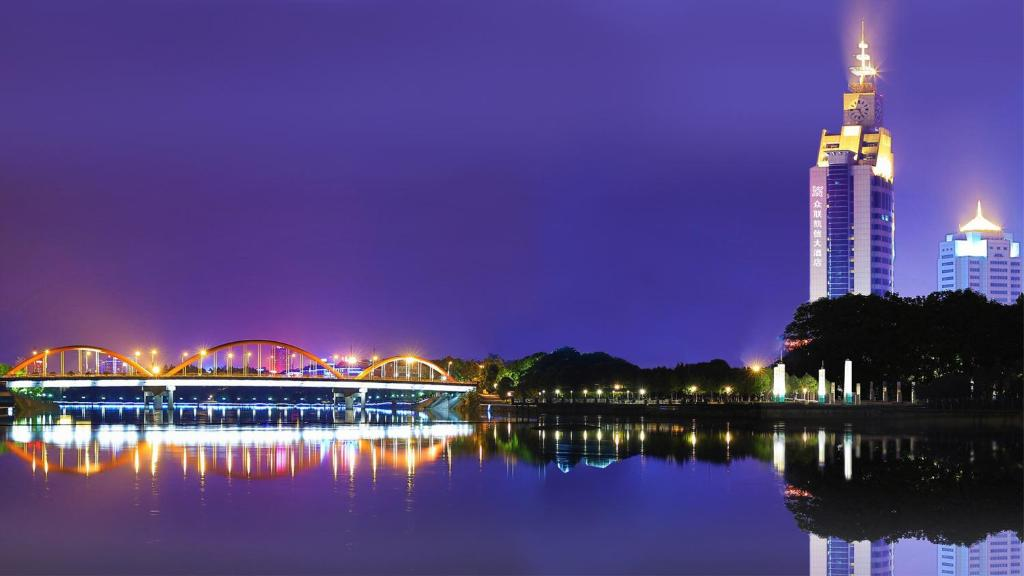 Carte Chine Yiwu.Yiwu Zhong Lian Kai Xin Hotel China Booking Com