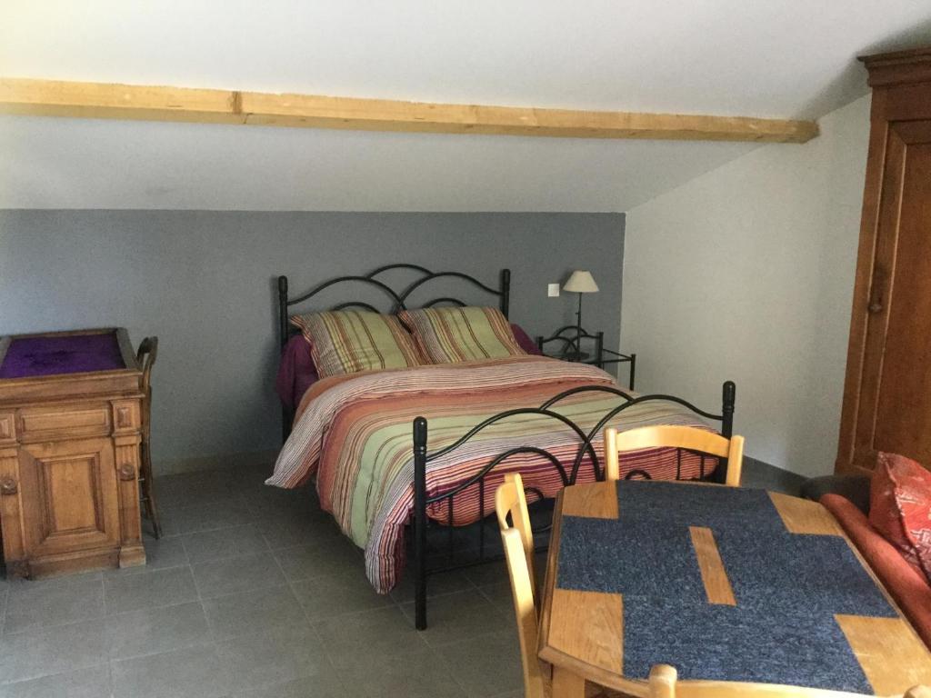 Un ou plusieurs lits dans un hébergement de l'établissement L'annexe à Didine