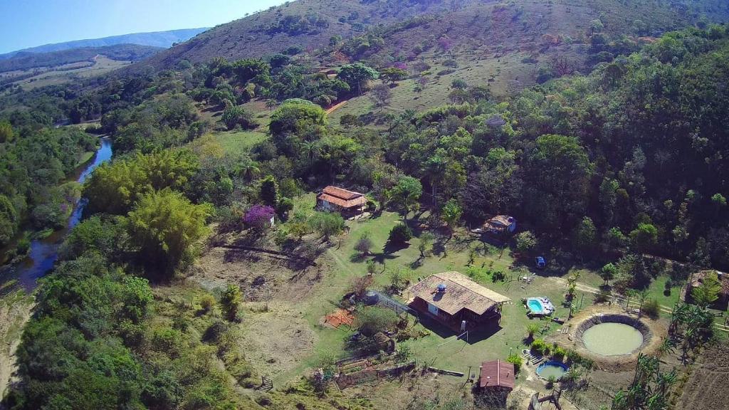 A bird's-eye view of Estância Macaúbas