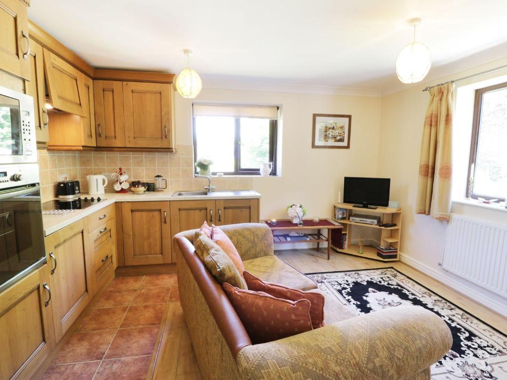 Kuchyňa alebo kuchynka v ubytovaní Bryn Coed Bach, Oswestry