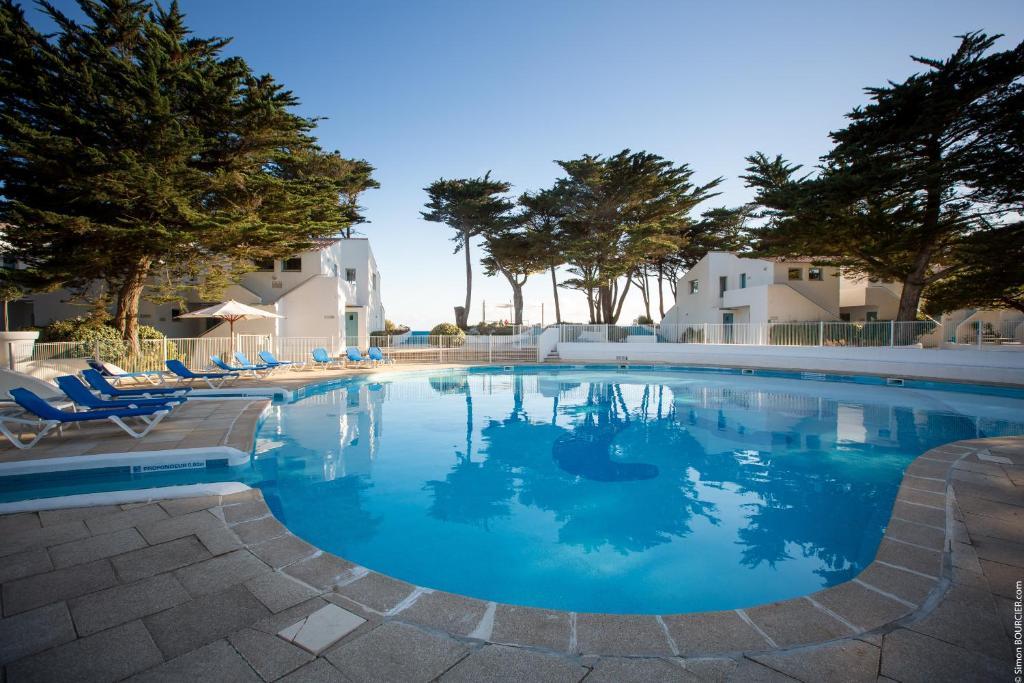 The swimming pool at or near Hotel Punta Lara Noirmoutier