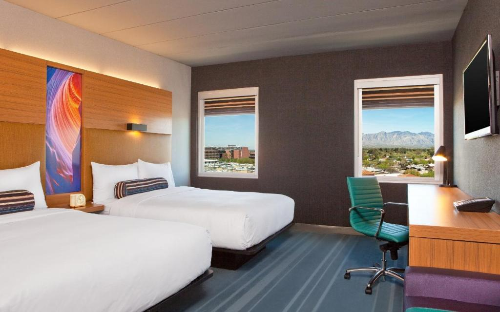 Aloft Tucson University USA Rooms