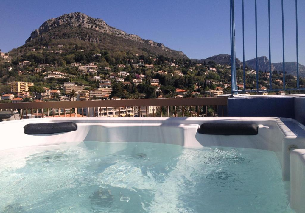 The swimming pool at or close to Hotel Diana