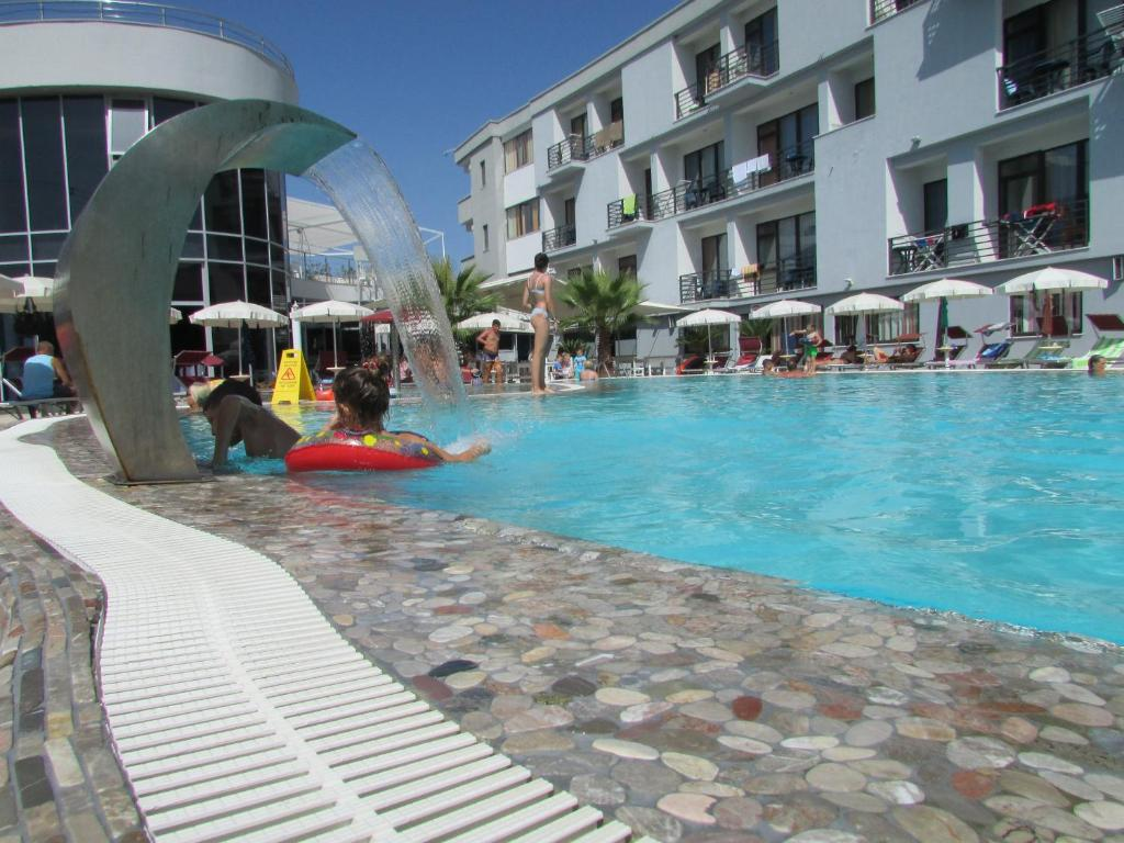 The swimming pool at or near Hotel ANTAG