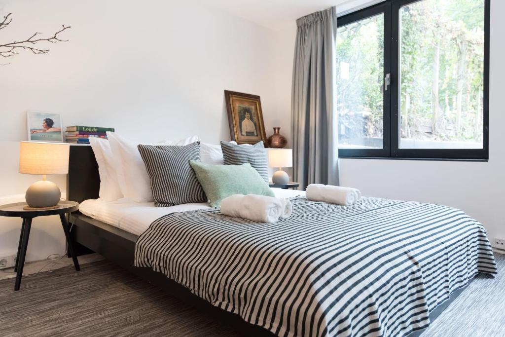 Trendy A1 Studioにあるベッド