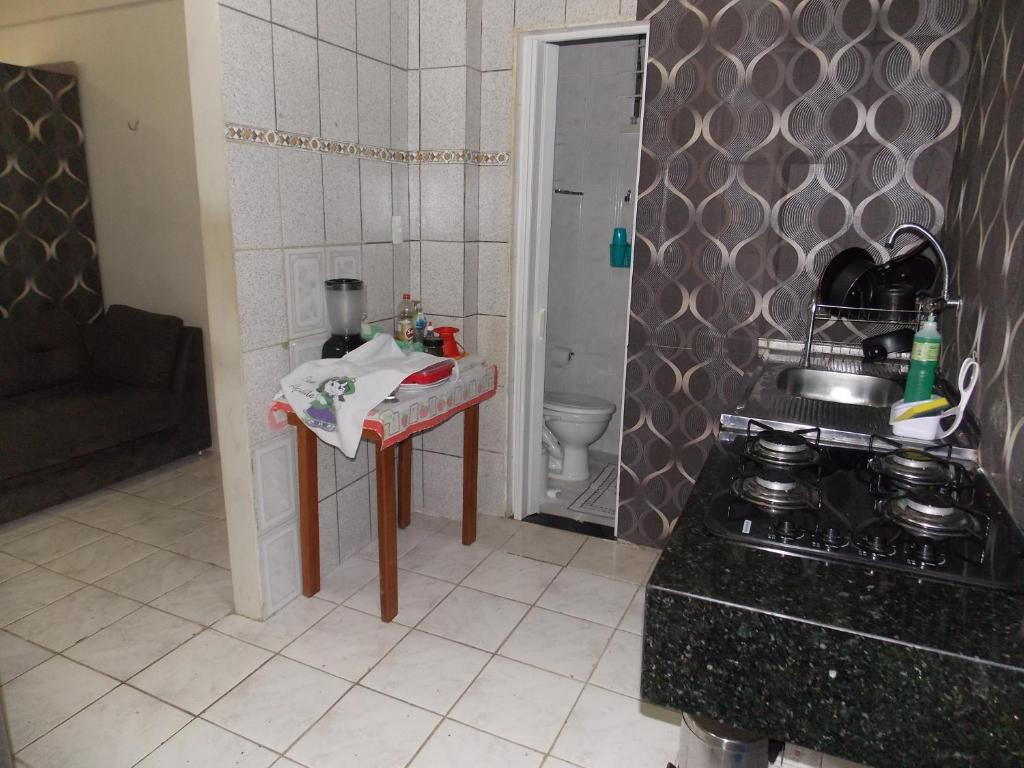 A bathroom at APTO CENTRO HISTÓRICO