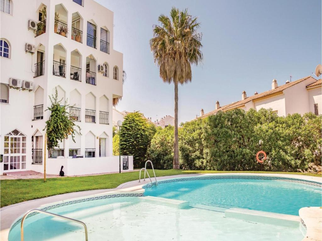 The swimming pool at or near Two-Bedroom Apartment in Estepona