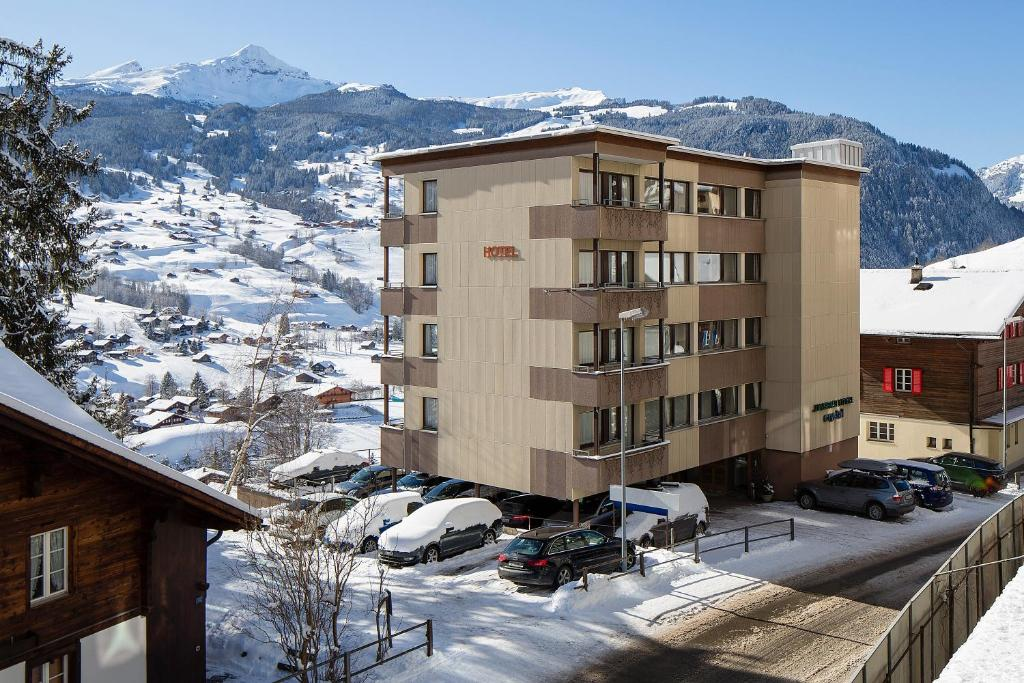 Hotel Jungfrau Annex Crystal Schweiz Grindelwald Booking Com