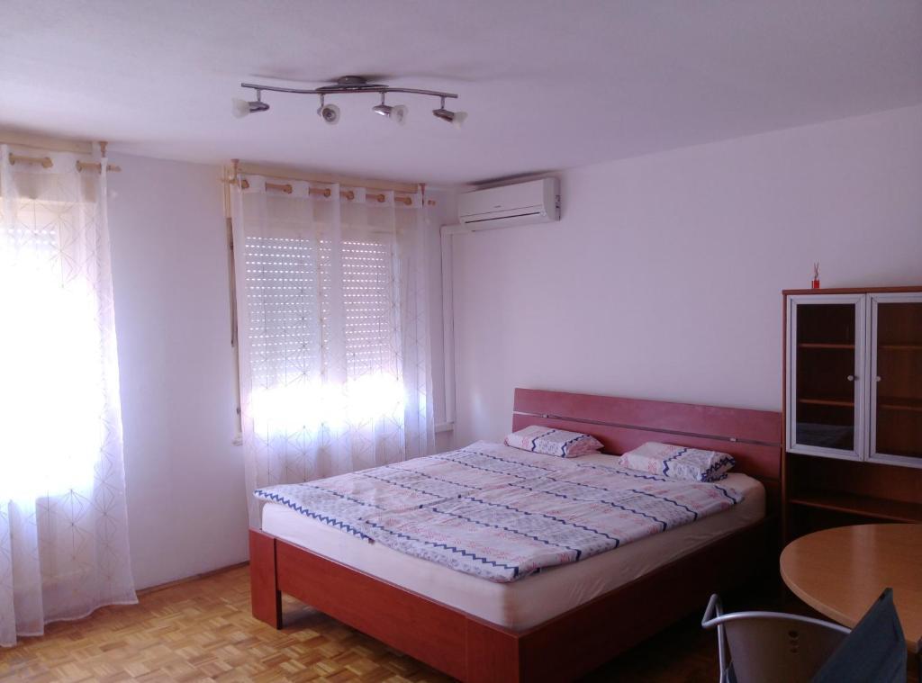 Postelja oz. postelje v sobi nastanitve Apartment in the city center