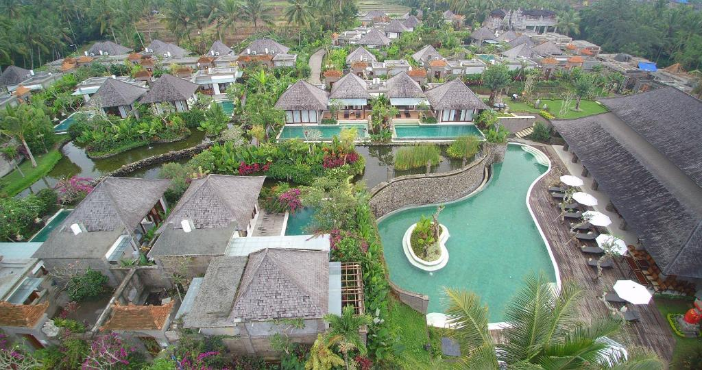 A bird's-eye view of Villas at Visesa Ubud