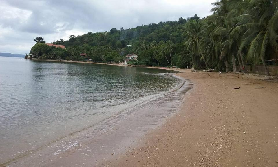 A beach at or near the guest house