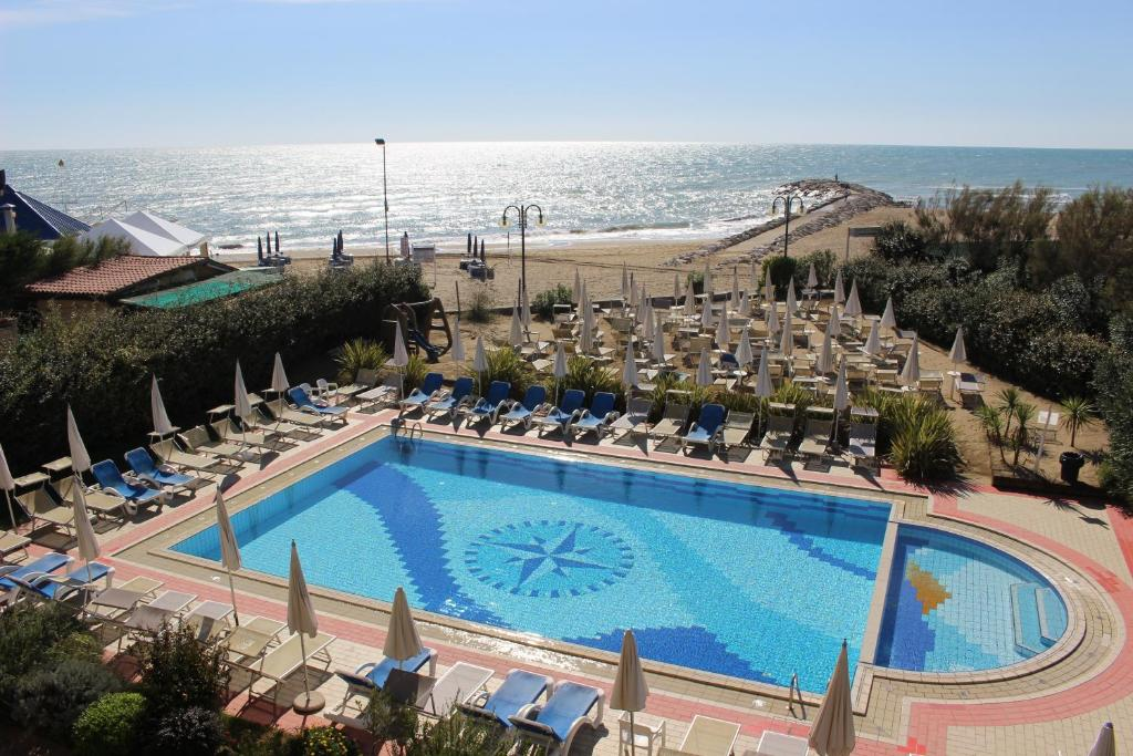 A view of the pool at Eurobeach Residence or nearby