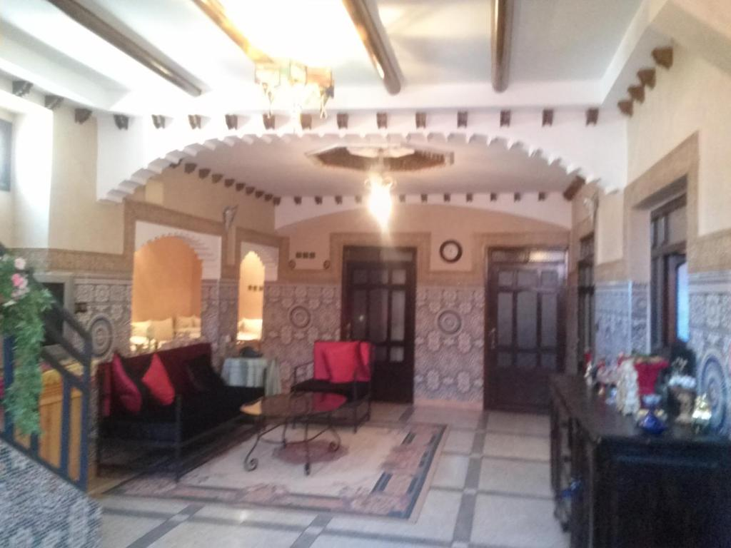 The lobby or reception area at Chez Ait Said
