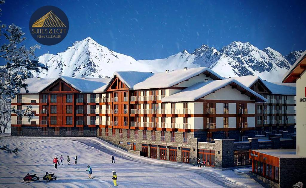 Apart Hotel Suites&Loft New Gudauri during the winter