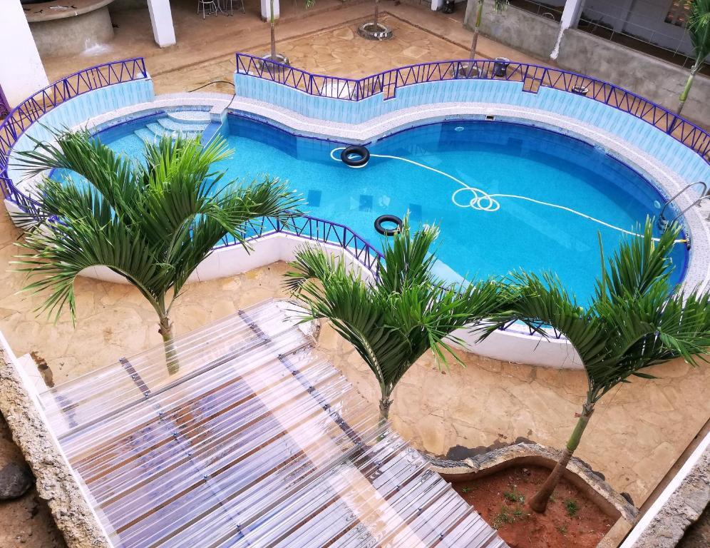 A view of the pool at Adonai Resort or nearby