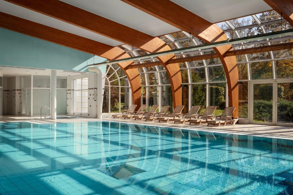 The swimming pool at or close to Spa Resort Sanssouci