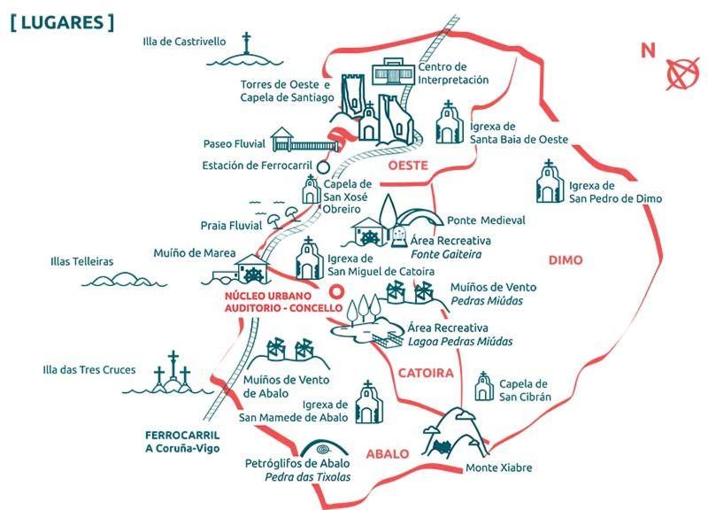 VILA MARISA. RIAS BAIXAS (Espanha Catoira) - Booking.com