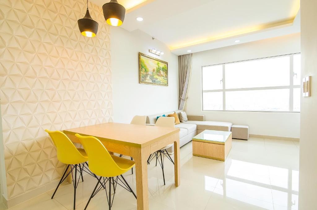 Ferienwohnung sunrise city 1 bed room full furniture vietnam ho chi