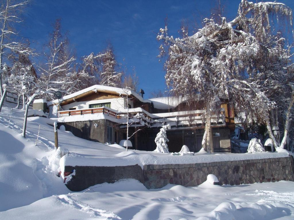 Hostal Chilextremo during the winter