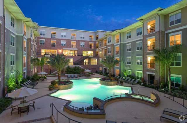 The swimming pool at or near Luxury Furnished Apartment Medical Centre Houston