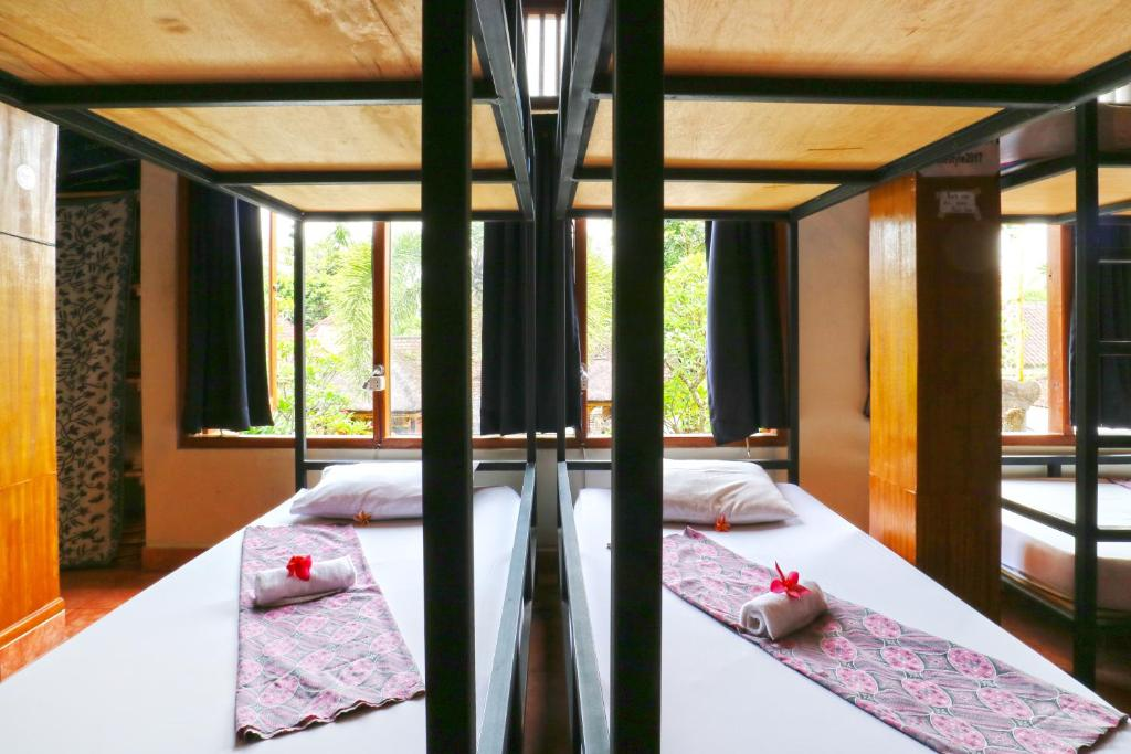 A bunk bed or bunk beds in a room at The Style Ubud