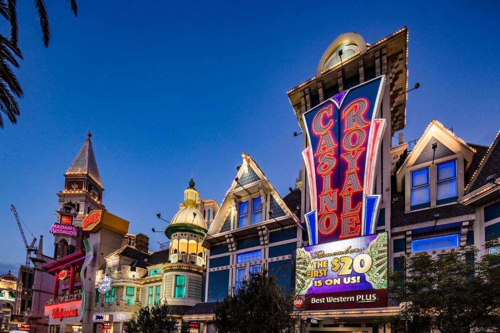 Best Western Plus Casino Royale - On The Strip, Las Vegas – Updated
