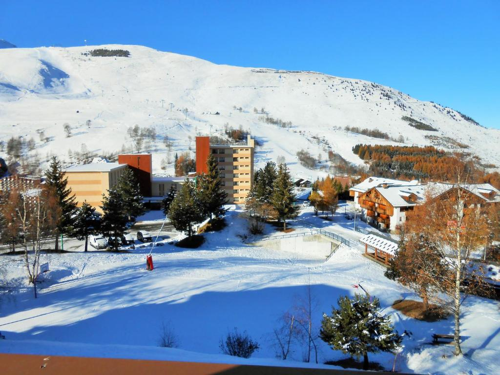 Meije during the winter