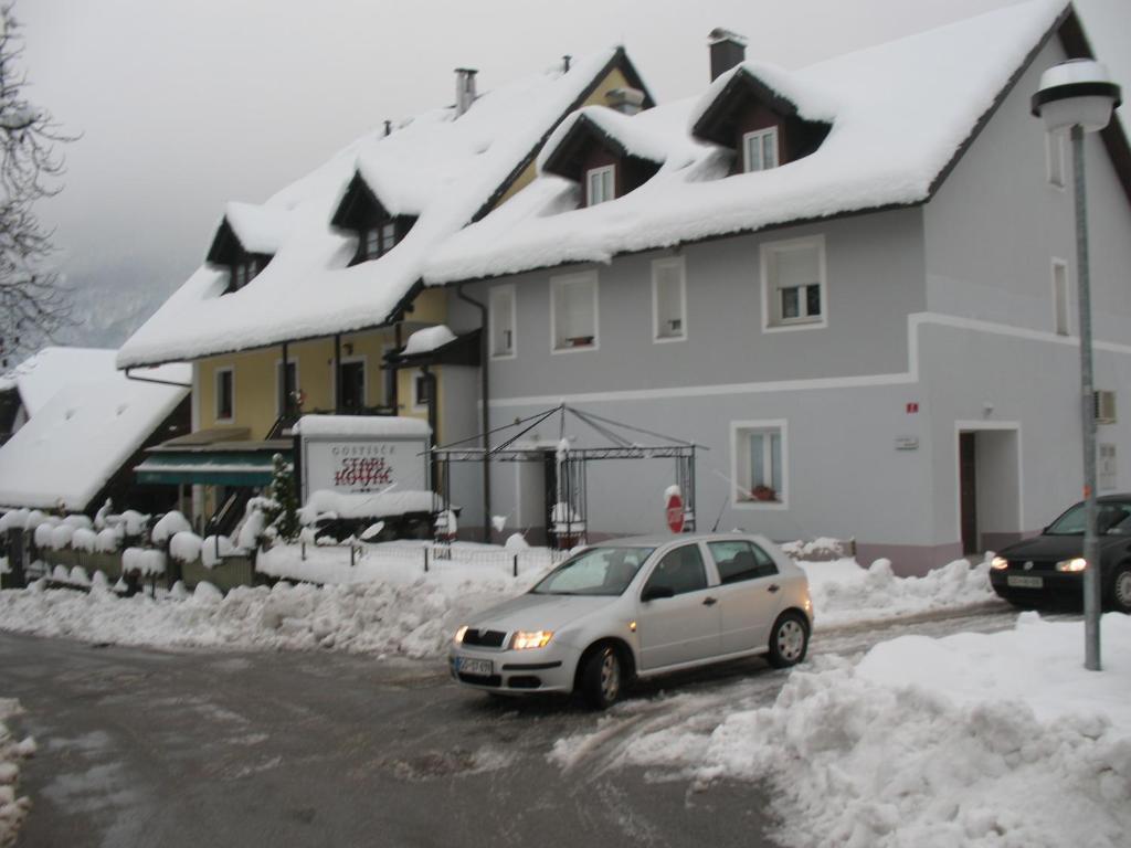 Apartmaji Oberstar Bovec during the winter
