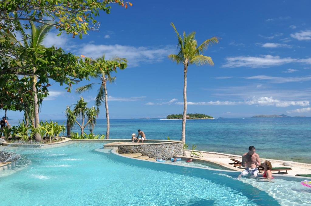 The swimming pool at or near Treasure Island Fiji