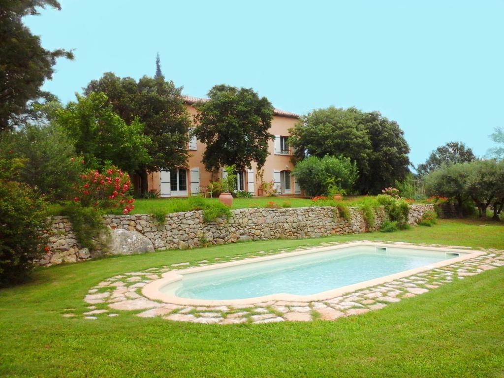 The swimming pool at or near La Maison de Campagne