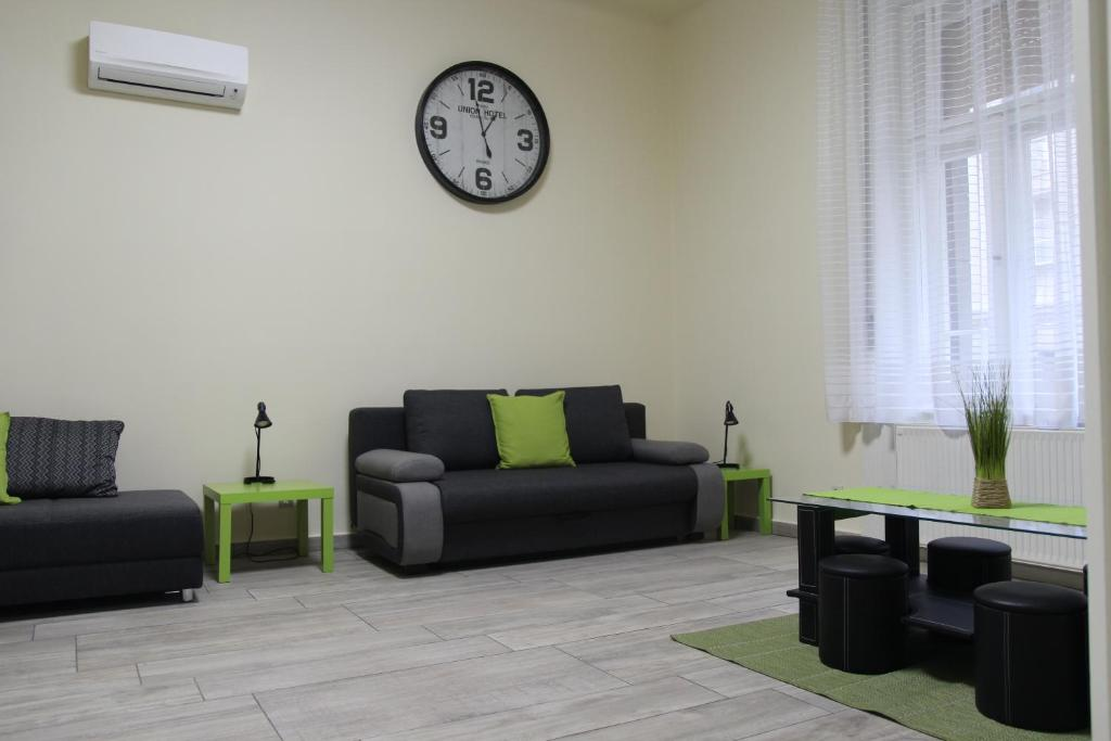 A seating area at Budapest Centrum Apartment For You