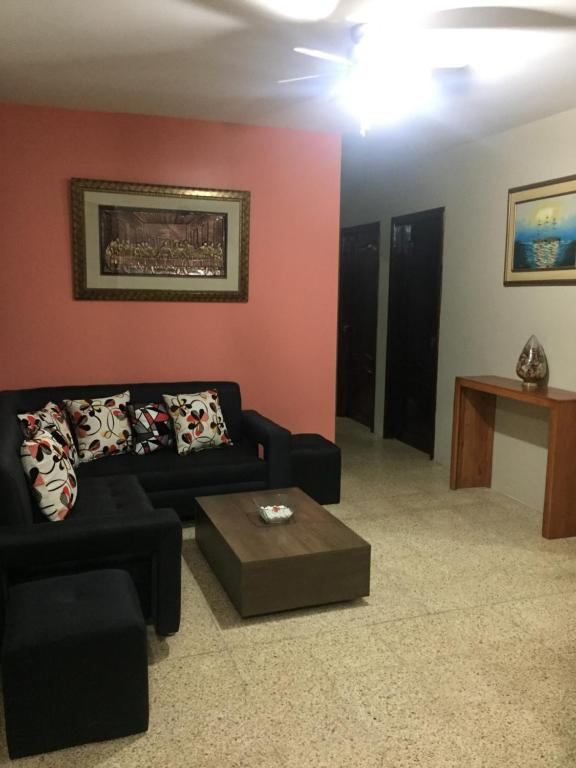 A seating area at Riveri Salinas 9