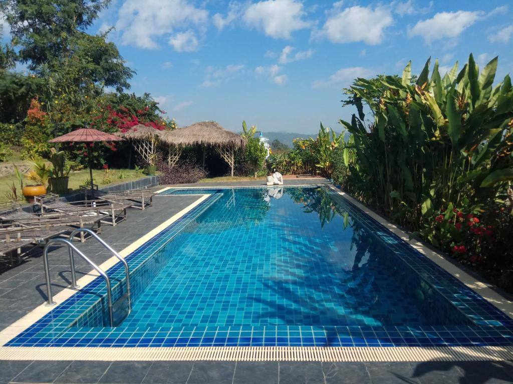 The swimming pool at or near Kumudra Hill - Mountain View