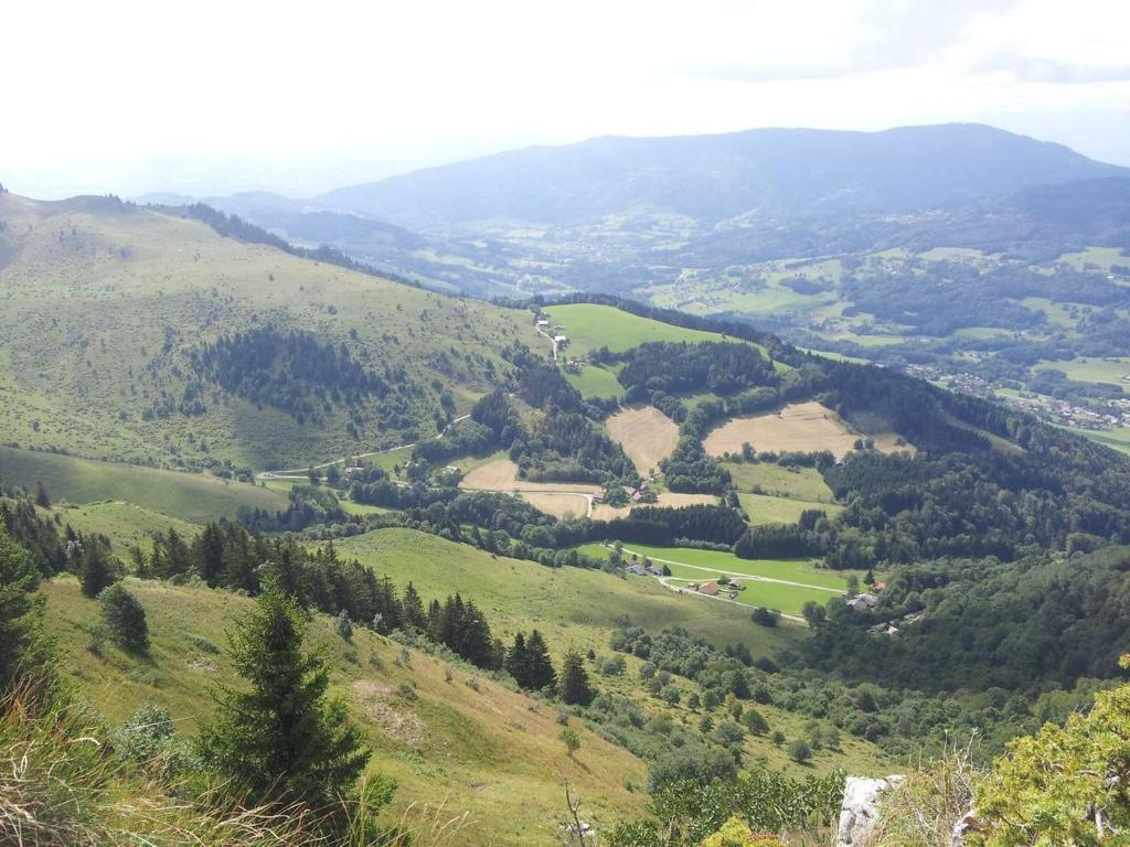 Vue panoramique sur l'établissement Les Brettaz