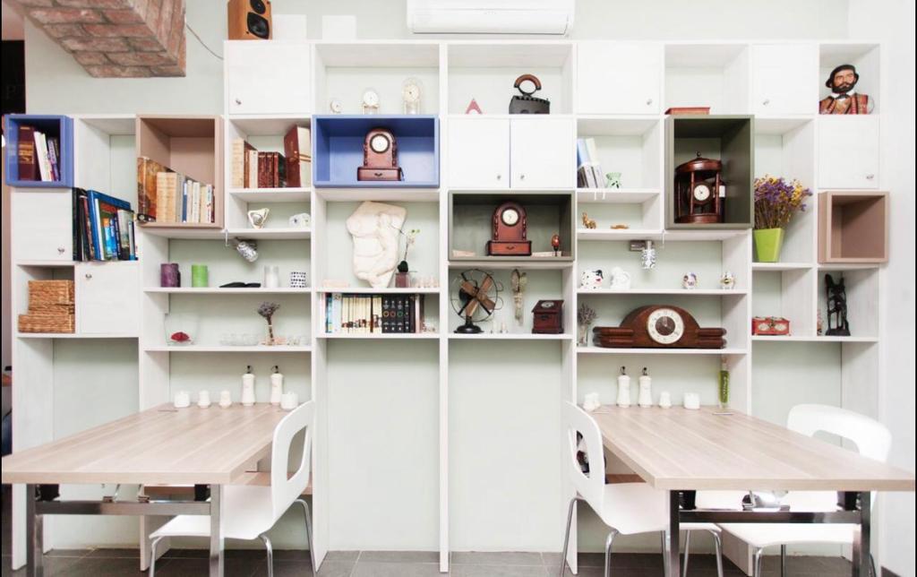 Cuisine ou kitchenette dans l'établissement S Apartments Vlaška 92