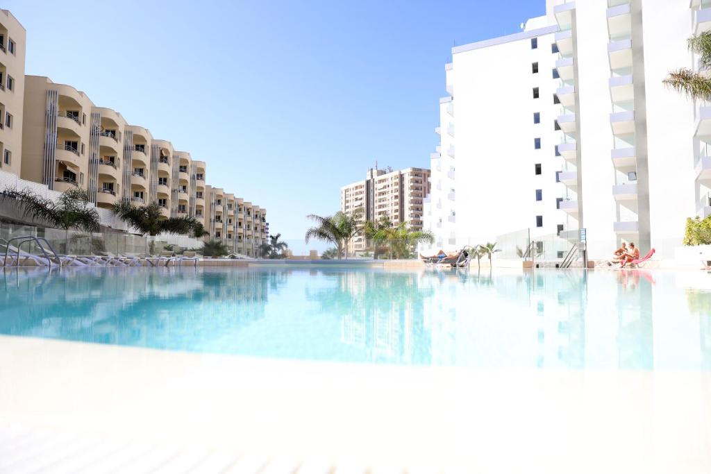 The swimming pool at or near Luxury apartment in Playa Paraiso