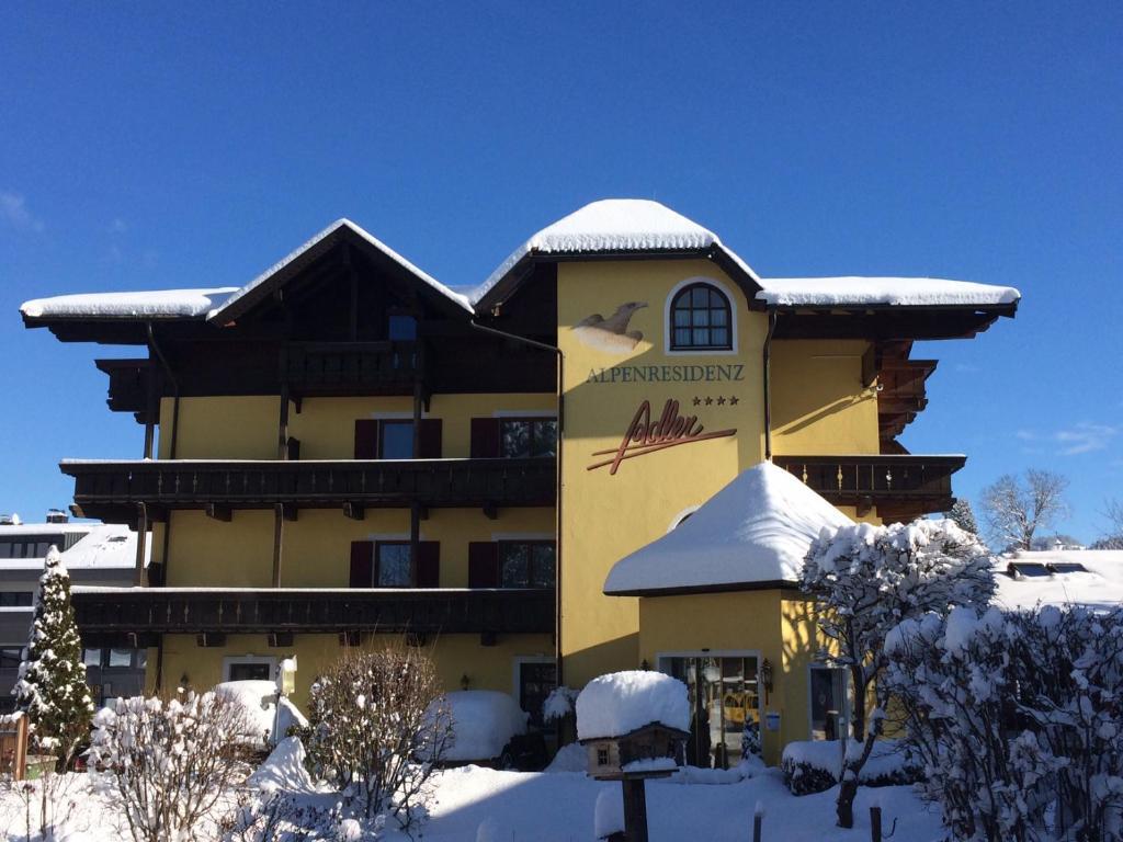 Alpenresidenz Adler during the winter